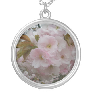 Spring Pinky Silver Plated Necklace