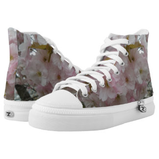 Spring Pinky Zipz High Top Shoes
