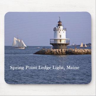 Spring Point Ledge Light, Maine Mousepad