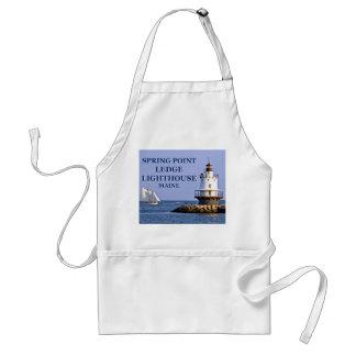 Spring Point Ledge Lighthouse, Maine Apron