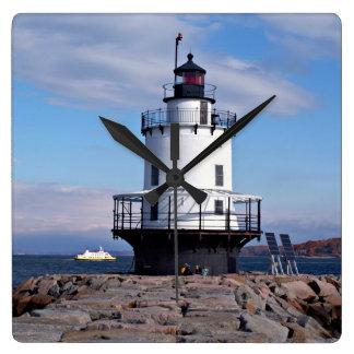 Spring Point Ledge Lighthouse, Maine Clock