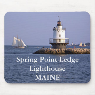 Spring Point Ledge Lighthouse, Maine Mousepad