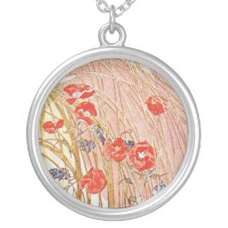 Spring Poppy Custom Necklace