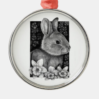 Spring Rabbit Premium Ornament