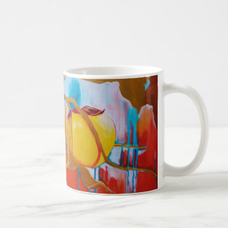 Spring Rain for Persimmons Coffee Mug