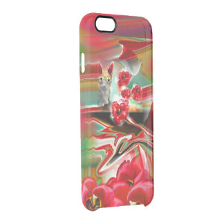 Spring Revival Abstract Easter Art Clear iPhone 6/6S Case