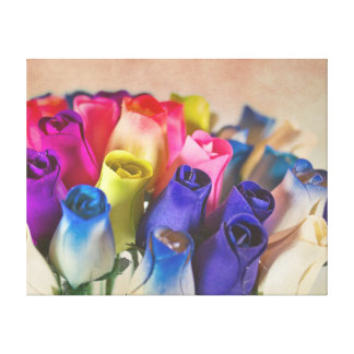 Spring Roses Canvas Prints