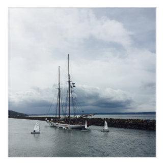 Spring Sailing Acrylic Print