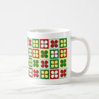 Spring Salad Pattern Coffee Mug