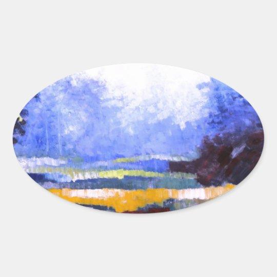 Spring Seaon 2.JPG Oval Sticker