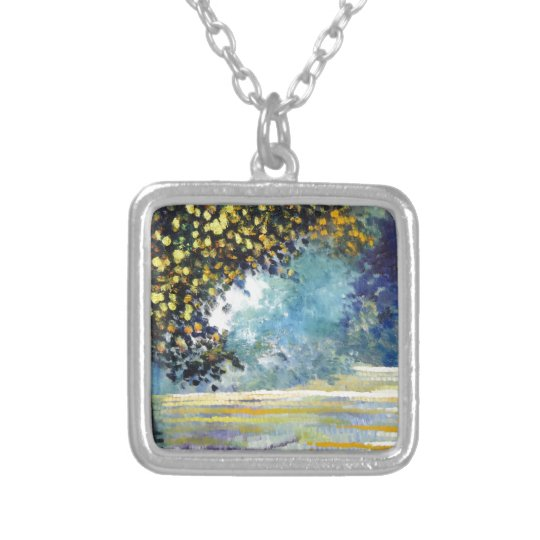 Spring Season 1 Silver Plated Necklace