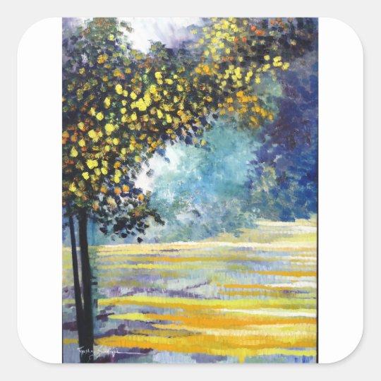 Spring Season 1 Square Sticker