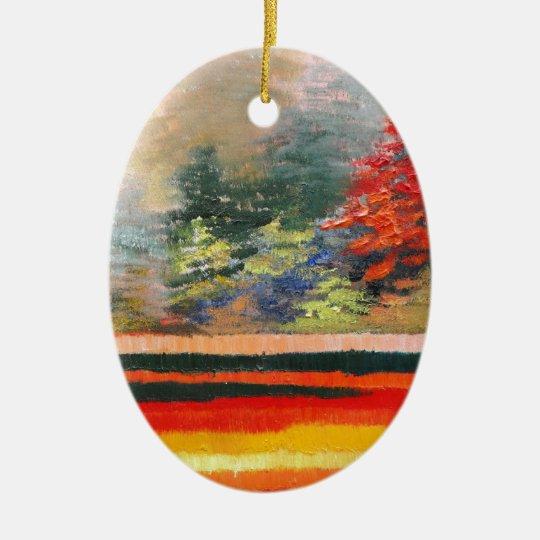 Spring Season 3 Ceramic Ornament