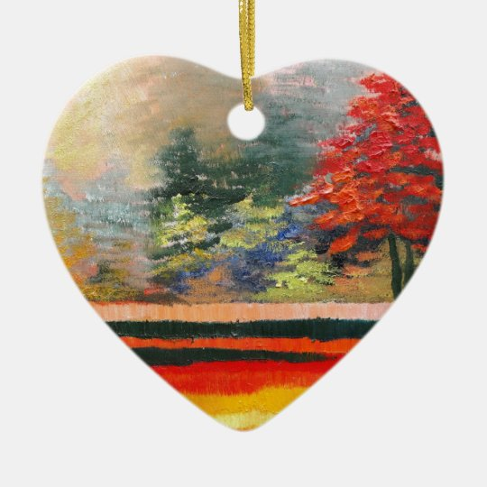 Spring Season 3 Ceramic Ornament
