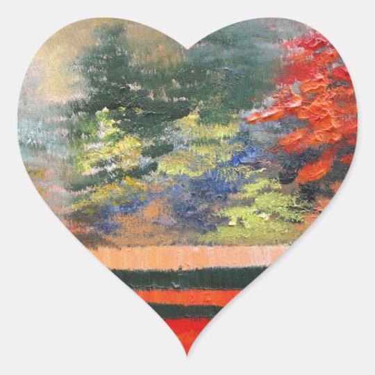 Spring Season 3 Heart Sticker