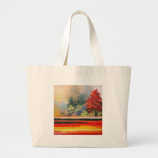 Spring Season 3 Large Tote Bag