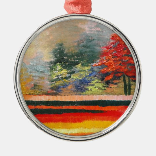 Spring Season 3 Metal Ornament