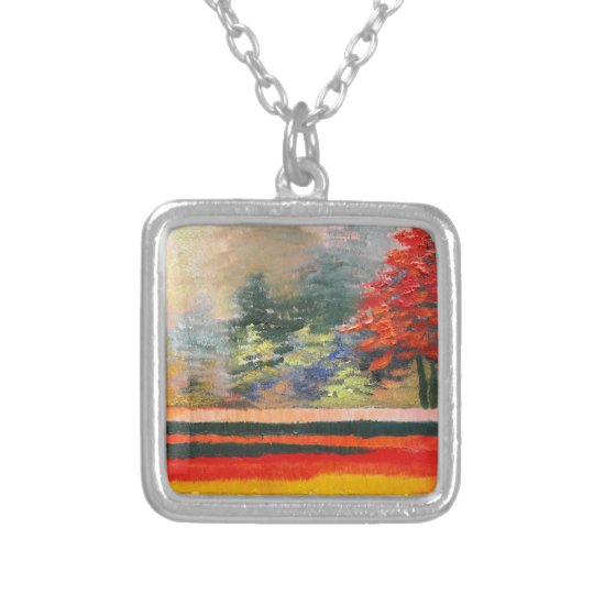 Spring Season 3 Silver Plated Necklace