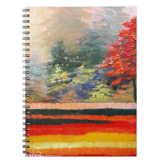 Spring Season 3 Spiral Notebook