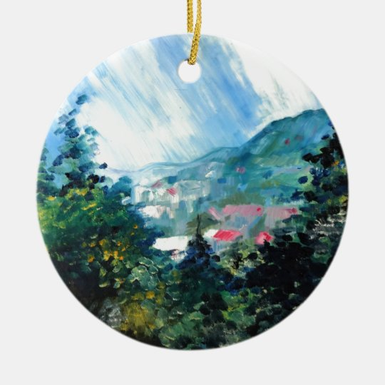 Spring Season 4 Ceramic Ornament