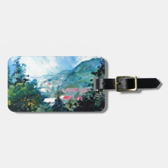 Spring Season 4 Luggage Tag