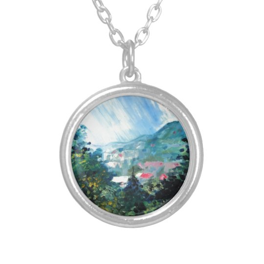 Spring Season 4 Silver Plated Necklace