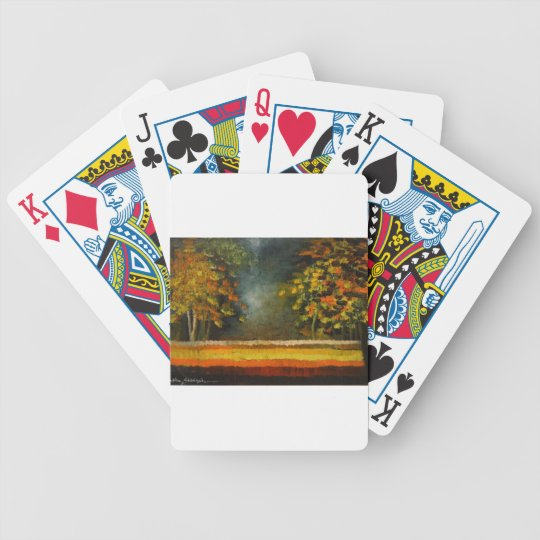 Spring Season 5 Bicycle Playing Cards