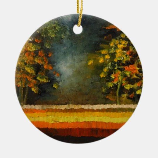 Spring Season 5 Ceramic Ornament