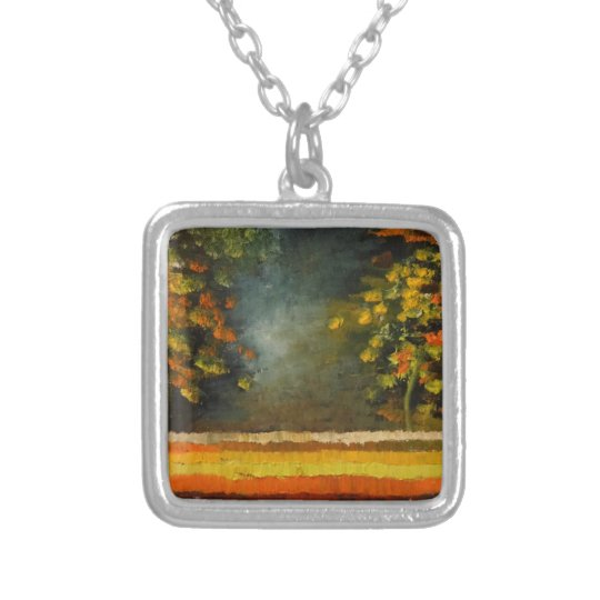 Spring Season 5 Silver Plated Necklace
