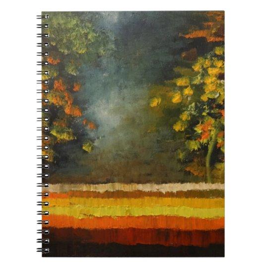 Spring Season 5 Spiral Notebook