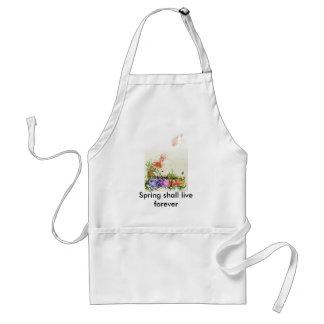 Spring shall live forever standard apron