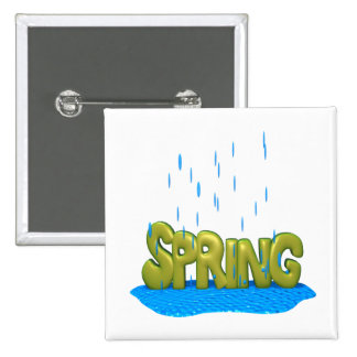 Spring Showers 2 Buttons