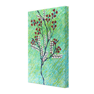SPRING single wrapped canvas. Canvas Print