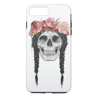 Spring skull iPhone 7 plus case