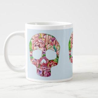 Spring skull large coffee mug