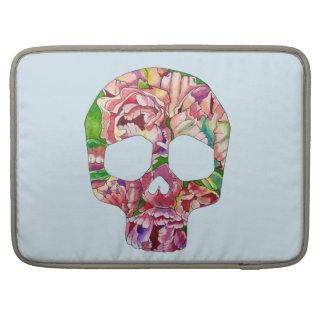 Spring skull sleeve for MacBooks