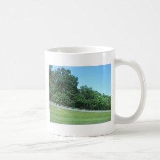 SPRING SKY CherryHill NewJersey USA Nature GREEN Coffee Mugs