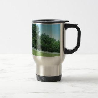SPRING SKY CherryHill NewJersey USA Nature GREEN Stainless Steel Travel Mug