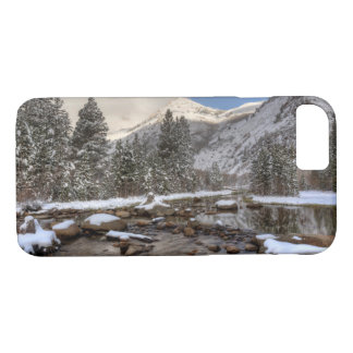 Spring snow, Sierra Nevada, CA iPhone 8/7 Case