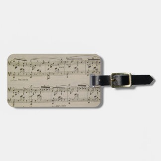 Spring Song Luggage Tag