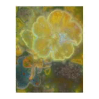 Spring Splendor Flower Wood Wall Art