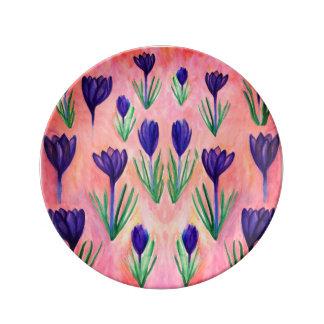 Spring Sprung  Porcelain Plate