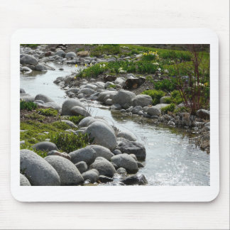spring stream mouse pad