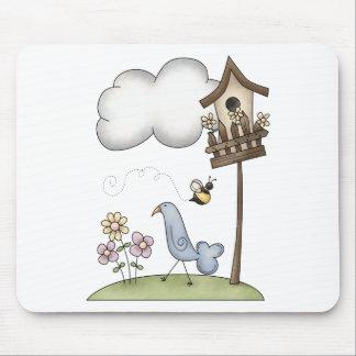 Spring Stuff · Birdhouse & Bird Mouse Pad