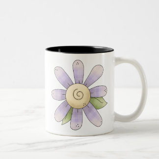 Spring Stuff · Purple Flower Mug