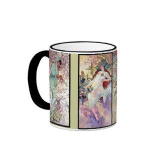 Spring Summer Fall Winter Ringer Mug
