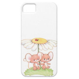 Spring Summer Love Mice Mouse Daisy iPhone 5 Case