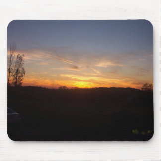 Spring Sunset Mouse Pad
