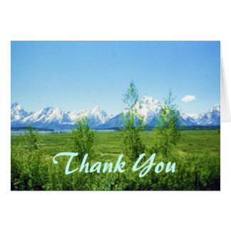 Spring Tetons Father's Day Card