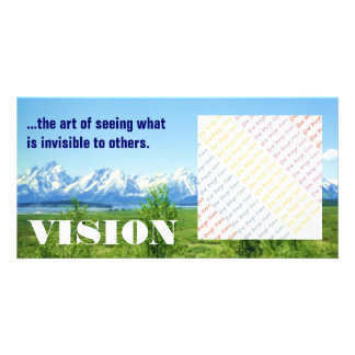 Spring Tetons VISION photo card